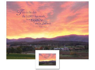 Inspirational Art - This is the Day (Shenandoah)