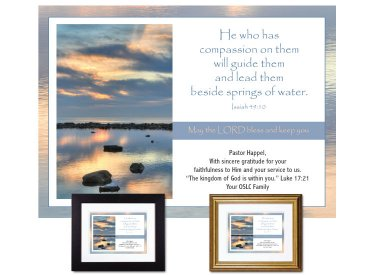 Pastor Appreciation Gift - Springs of Water
