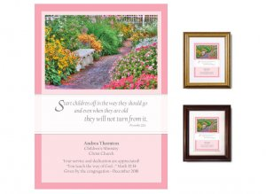 Teacher Appreciation Gift - Start Children Off (Garden Path)