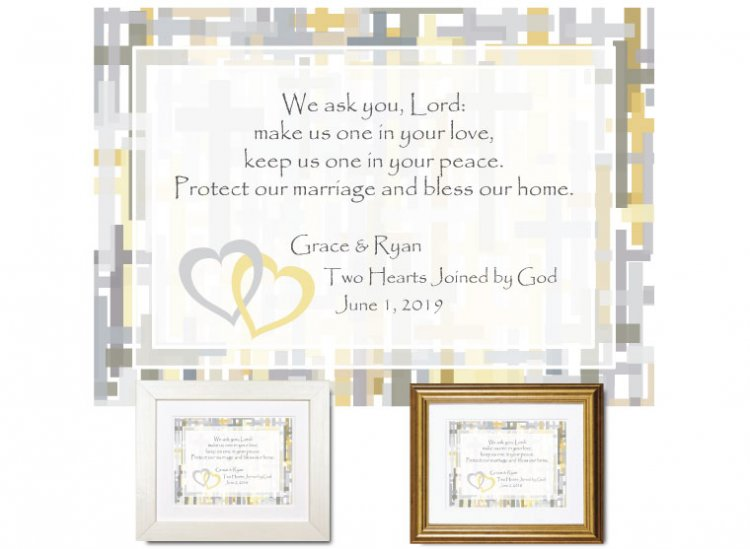 Wedding Gift - Joined by God - Click Image to Close
