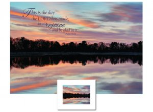 Inspirational Art - This is the Day (Reflection)