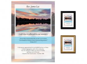 Pastor Appreciation Gift - Reflected