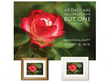 Personalized Wedding Keepsake - No Longer Two