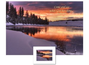 Inspirational Art - Come and See (Yellowstone)
