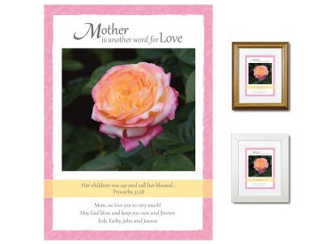 Gift for Mother - Her Children (Rose)