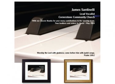Musician Appreciation Gift - Worship the Lord