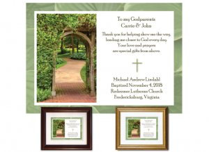 Gift for Godparents - Garden Path