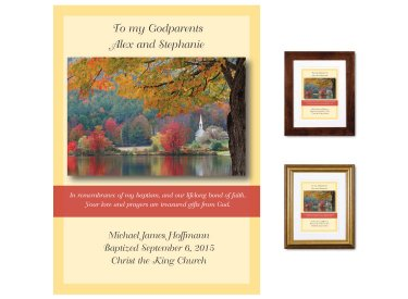 Gift for Godparents - Country Church