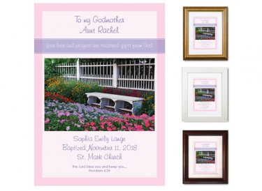 Gift for Godmother - Garden