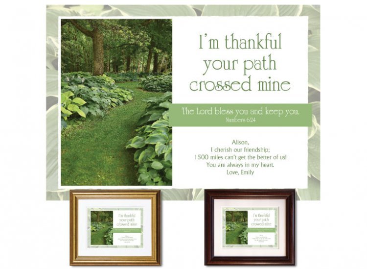 Friendship Gift - Paths (Hosta Garden) - Click Image to Close