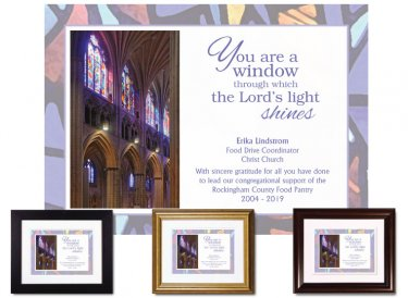 Service Appreciation - You Are a Window (Cathedral)