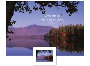 Inspirational Art - Come and See (White Mountains)