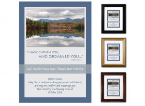 Pastor Appreciation Gift - Ordained