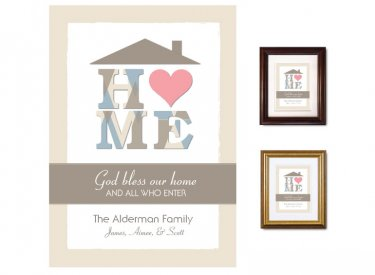 Gifts for House & Home - Heart (taupe)