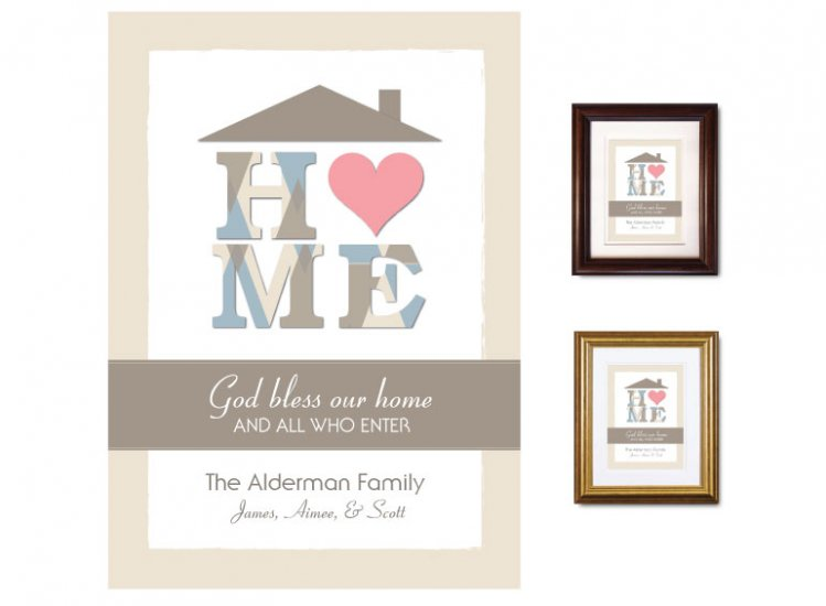 Gifts for House & Home - Heart (taupe) - Click Image to Close