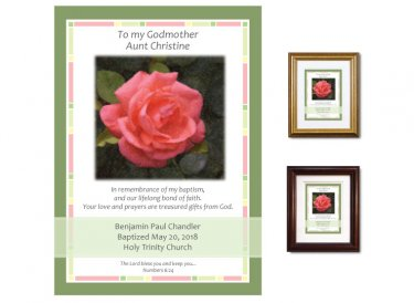 Gift for Godmother - Rose