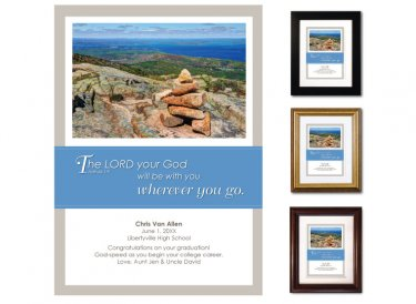 Graduation Gift - Wherever You Go (Cairn)