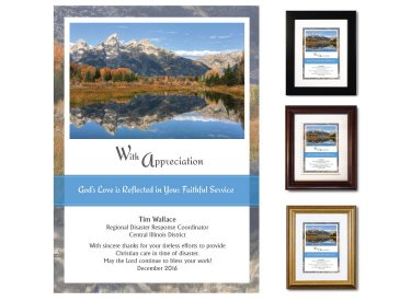 Service Appreciation - With Appreciation (Tetons)