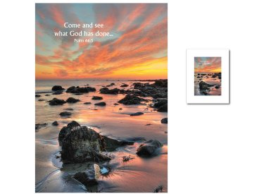 Inspirational Art - Come and See (Seashore)