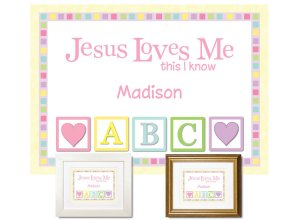 Children's Gift - Jesus Loves Me