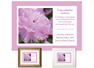 Gift for Godmother - Rhododendron