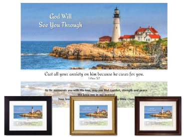 Christian Encouragement - God Will See You Through
