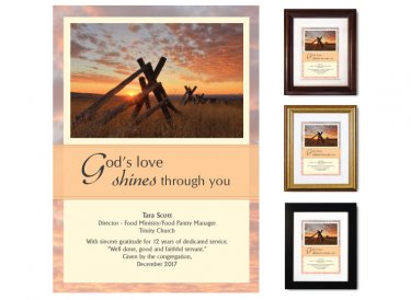 Service Appreciation - God's Love Shines (Fence)
