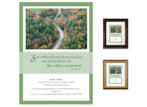 Teacher Appreciation Gift - Start Children Off (Winding Road)