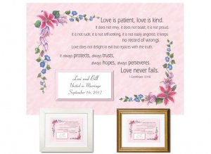 Wedding Gift - Love is Patient and Kind