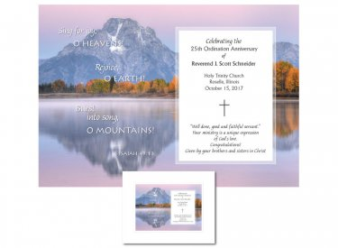 Ordination Anniversary Gift - Sing for Joy