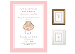 Gift for Godparents - Special Gifts From God (Pink)