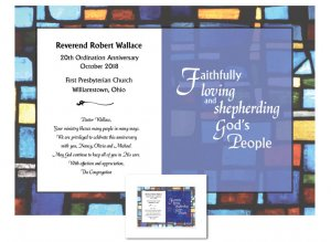 Ordination Anniversary Gift - Faithfully Shepherding