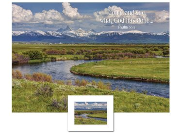 Inspirational Art - Come and See (Teton Valley)