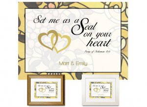 Sweetest Day Gift - On Your Heart (Gold)