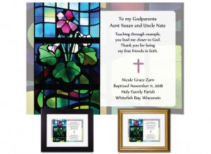 Gift for Godparents - Stained Glass II
