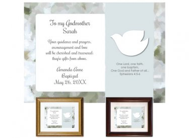 Gift for Godmother - Dove