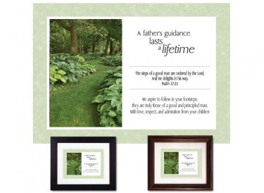 Gift for Father - Lifetime of Guidance (Garden)