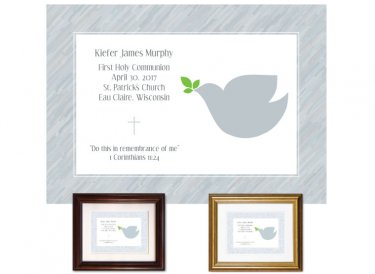 Confirmation Gift - Dove, Grey