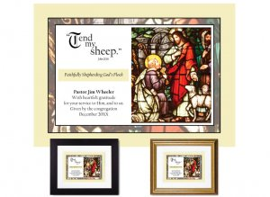 Personalized Pastor Appreciation - Tend My Sheep