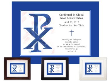 Confirmation Gift - Chi Rho