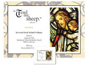 Clergy Ordination Gift - Tend My Sheep