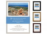 Teacher Appreciation Gift - Start Children Off (Cairn)