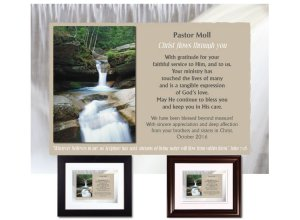 Personalized Pastor Appreciation - Christ Flows