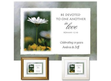 Wedding Anniversary Gift - Be Devoted