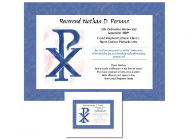 Ordination Anniversary Gift - Chi Rho