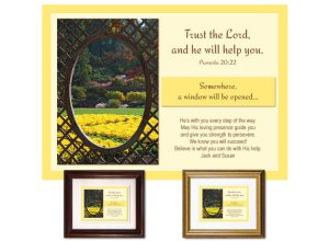 Christian Encouragement - A Window Will Be Opened