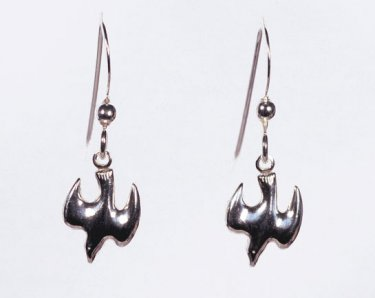 Confirmation Jewelry - Dove Earrings