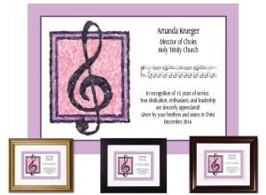 Musician Appreciation Gift - Treble Clef
