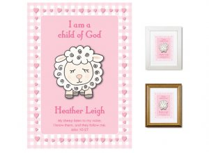 Children's Gift - Child of God (pink)