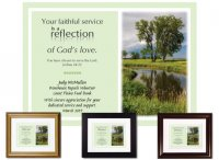 Service Appreciation - Reflection of God's Love
